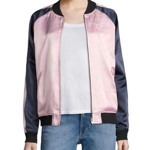 Opening Ceremony Reversible Embroidered Bomber
